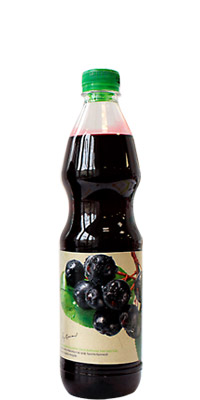 Aronia Concentrated Syrup Vitanea 1L