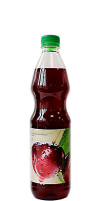Sour Cherry Aronia Concentrated Syrup Vitanea 1L